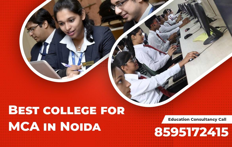 Best college for MCA in Noida | Top MCA Colleges in Noida